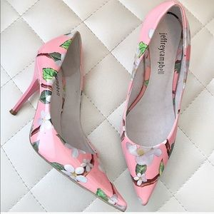 Jeffrey Campbell | 6 Ikon Pointy Toe Pump floral